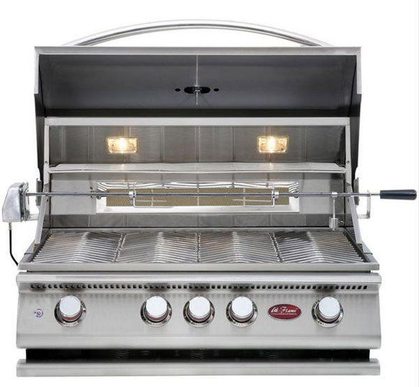 Cal Flame P4 32 Inch 4 Burner Gas Grill