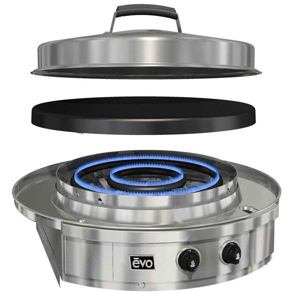 Evo Affinity 30g Drop In Cooktop Grill