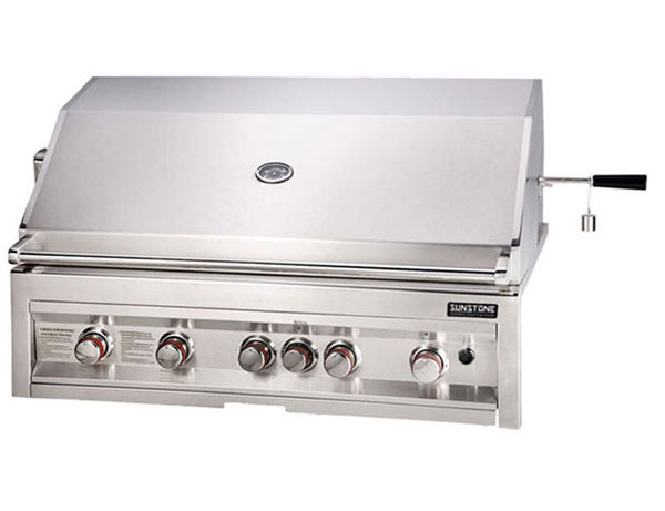 Sunstone 5 Burner 42 Quot Infrared Drop In Gas Grill