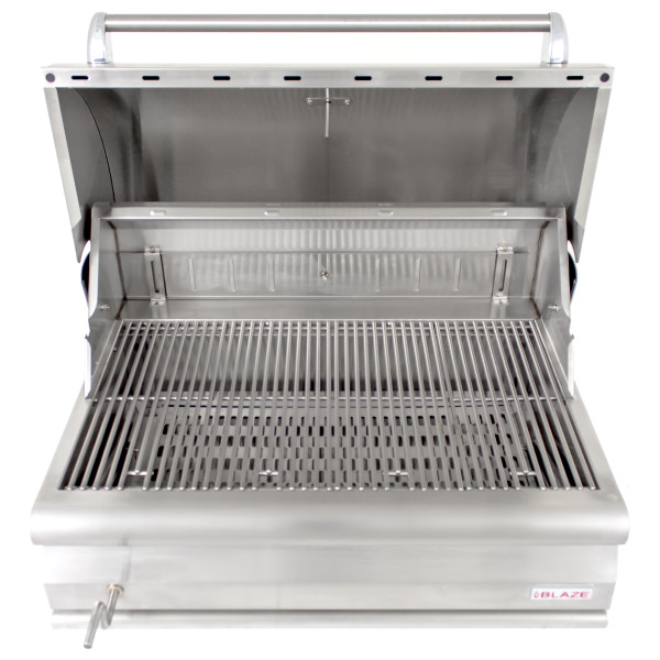 Blaze 32 Inch Built In Charcoal Grill Affordable Charcoal