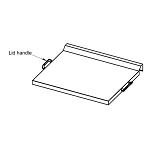 Blaze 30-Inch Griddle Lid Handle - BLZ-GRIDDLE-002