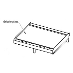 Blaze 30-Inch Replacement Griddle Plate - BLZ-GRIDDLE-005