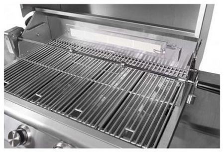 Blaze 32 Inch 4 Burner Gas Grill Rotisserie Kit