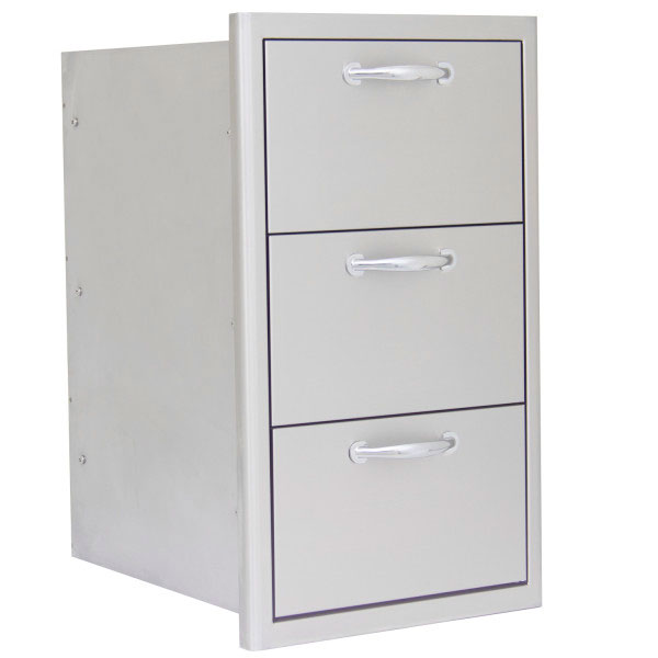 Blaze 16 Inch Triple Access Drawer Blz Drw3 R