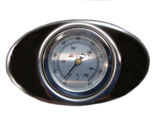 07 Cal Flame Grill Hood Thermometer Includes Bezel