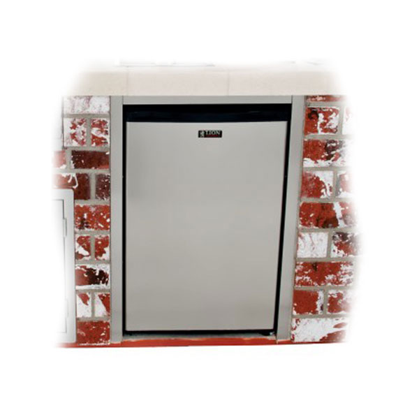 Lion Stainless Steel Refrigerator Frame Creates A Clean
