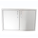 Blaze Stainless Steel Sealed Dry Storage Cabinet with Shelf