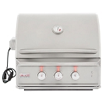 Blaze Professional 27-Inch 2-Burner Grill With Rear Infrared Burner