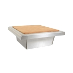 Blaze 15-Inch Trash Chute With Cutting Board