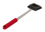 Bull Soft Grip Red Handle Big Head Grill Brush