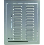 Bull Vertical Access Door with Louvered Vents