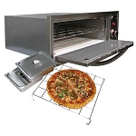 Cal Flame 2-in-1 Pizza Oven/Warmer (110-V)