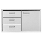Delta Heat 30-Inch Door/Three Drawer Combo