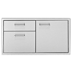 Delta Heat 36-Inch Door/Two Drawer Combo