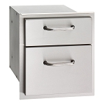 Fire Magic Select 14-Inch Double Drawer