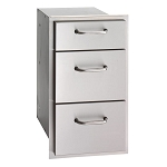 Fire Magic Select 14-Inch Triple Drawer
