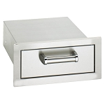 Fire Magic 14-Inch Single Premium Flush Mount Drawer