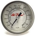 Cal Flame Grill Thermometer - No Bezel