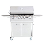 Lion L75000 Series 32-Inch 4-Burner Grill Cart