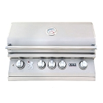 Lion L75000 32-Inch 4-Burner Built-In Grill