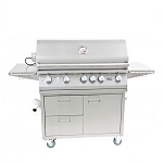 Lion L90000 Series 40-Inch 5-Burner Grill Cart