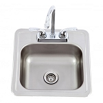 Lion Bar Sink with Faucet