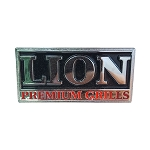 Lion Large Rectangle Logo