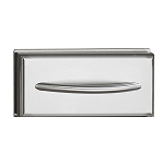 Napoleon Flat Single Built-In Stainless Steel Drawer