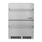 Twin Eagles 24-Inch Two Drawer Outdoor Refrigerator