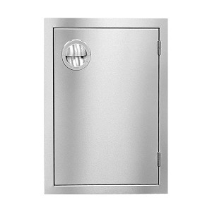 Slimline Single Vertical Door