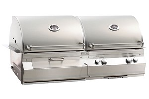 Fire Magic Aurora A830i Charcoal And Gas Combo Grill