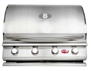 "Cal Flame 32"" G Series 4-Burner Gas Grill"