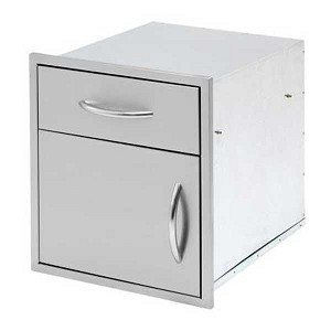 Cal Flame 18-Inch Door & Drawer Combo