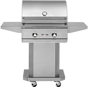 "Delta Heat 26"" Gas Grill Cart"