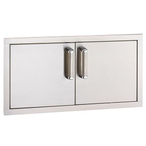 Fire Magic 30-Inch Premium Flush Mount Double Access Doors (Reduced Height)