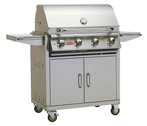 Bull Lonestar Select Gas Grill Cart