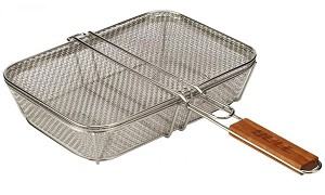 Bull Wire Mesh Shaker Basket With Lid