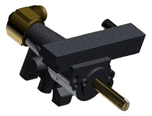 "Cal Flame 1/2"" Side Burner Control Valve (NG)"